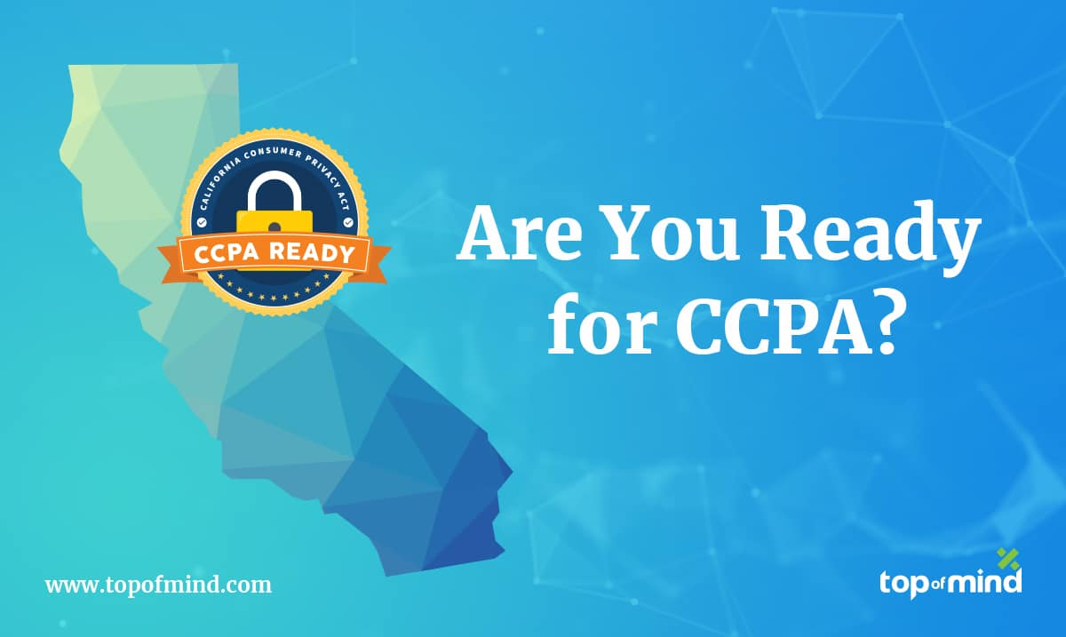 Top of Mind Expands Mortgage Compliance Solutions with CCPA Readiness Ahead of January 1 Deadline