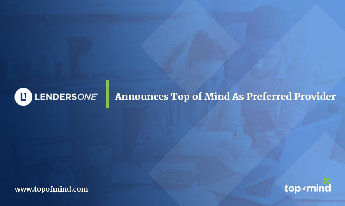 Lenders One Announces Member, Preferred Provider and Capital Markets Grow at Its March Summit