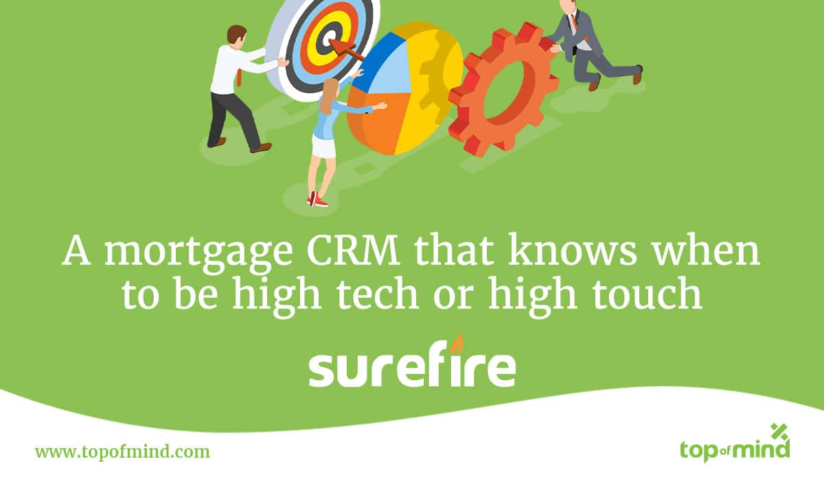 SurefireCRM is high tech and high touch