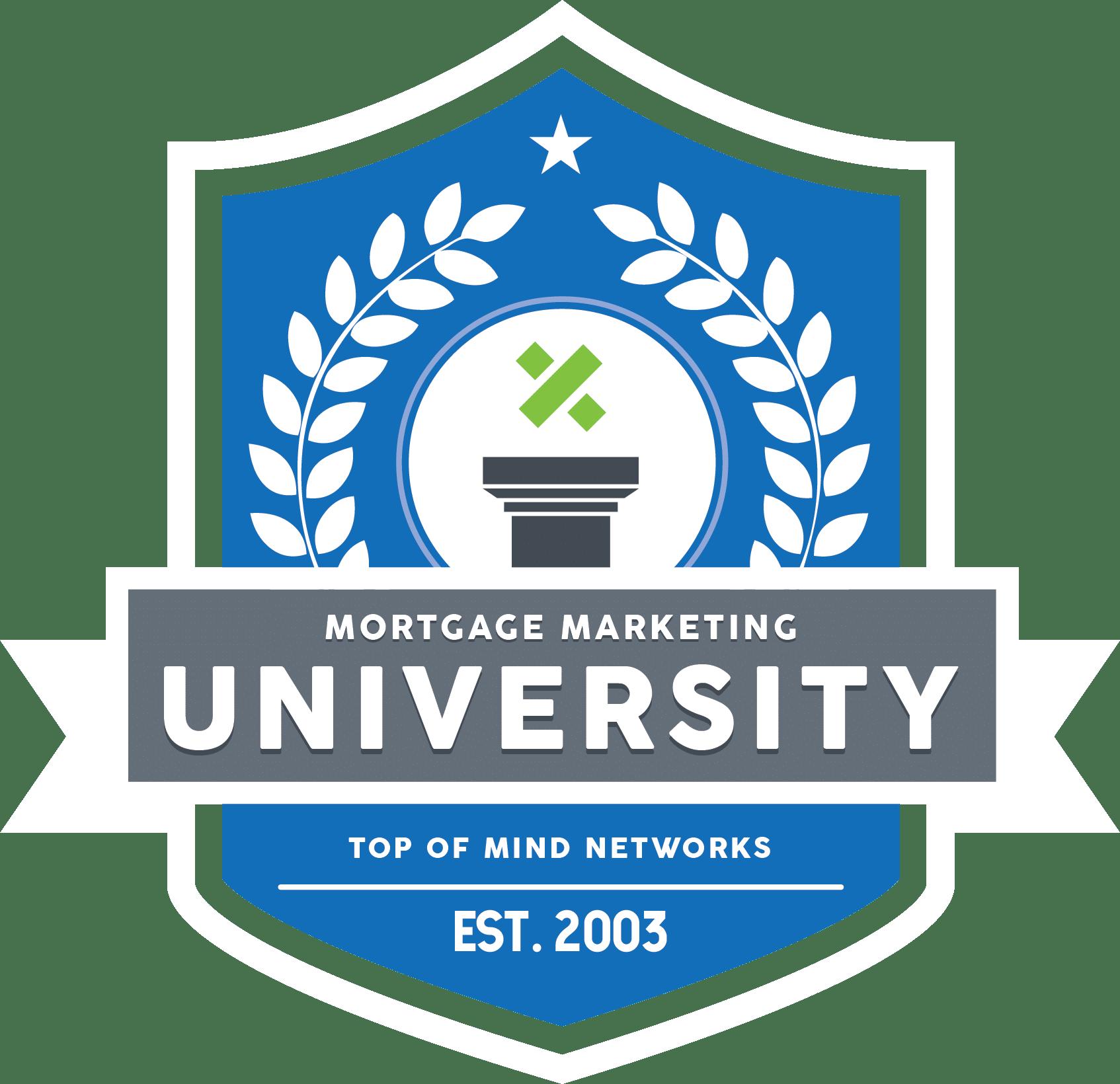 Mortgage Marketing University