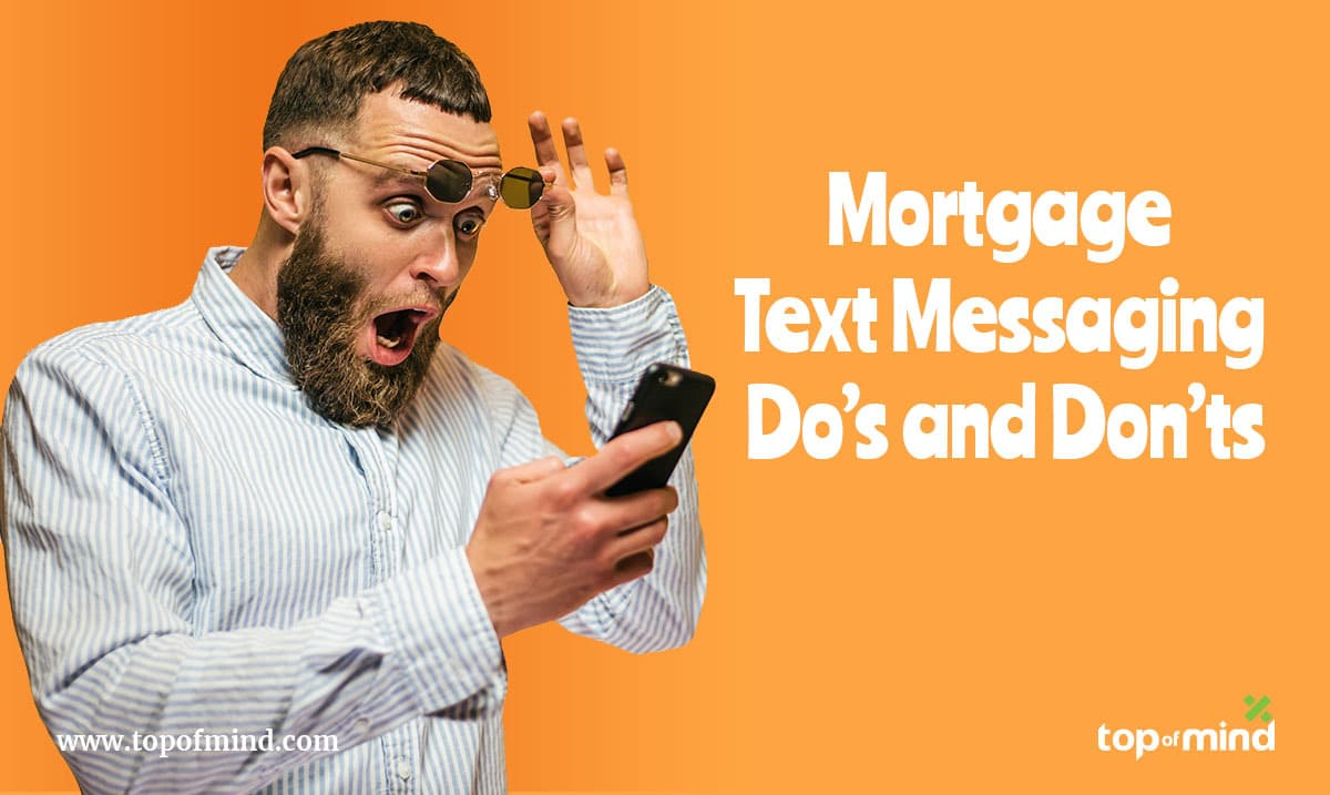 Mortgage Text Messaging